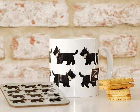 Mug Mug and Coaster Set Scottie Dog Mug and Coaster Collection