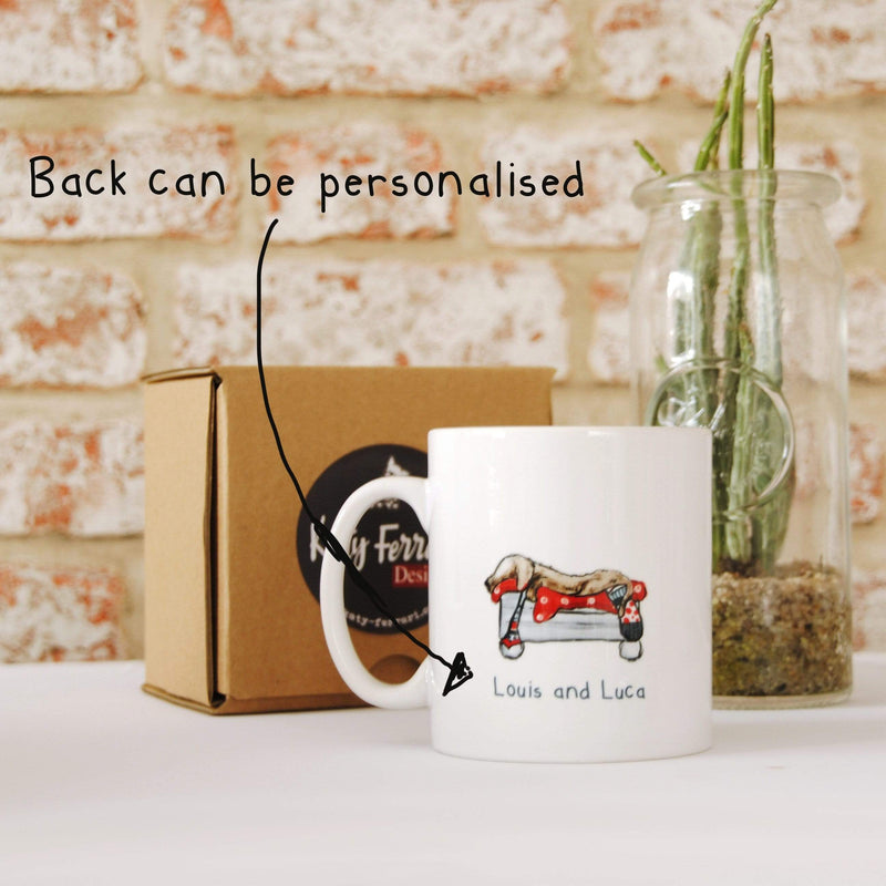 Mug Personalised Pug Mug Best Dad Ever