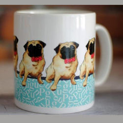 Mug Pug Dog Lover Ceramic Mug