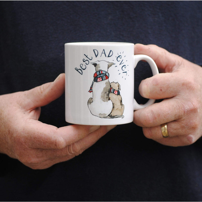 Mug Pug Mug Best Dad Ever