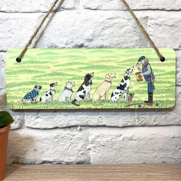 DECORATION DOG WHISPERER HANGING PLAQUE