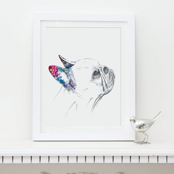 Prints French Bulldog Fine Art Print