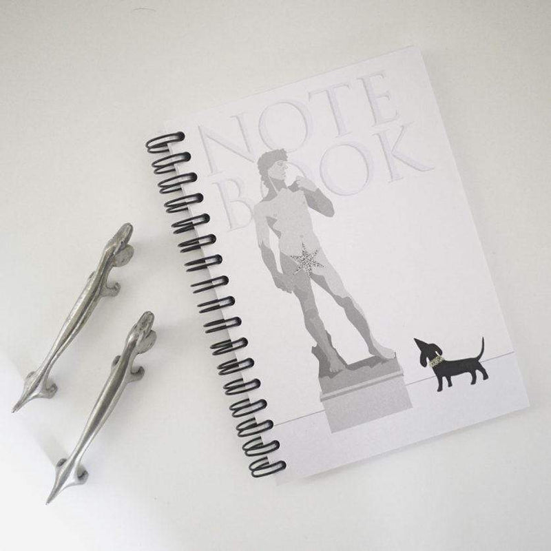 Notebooks Dachshund David Notebook from London Pooch