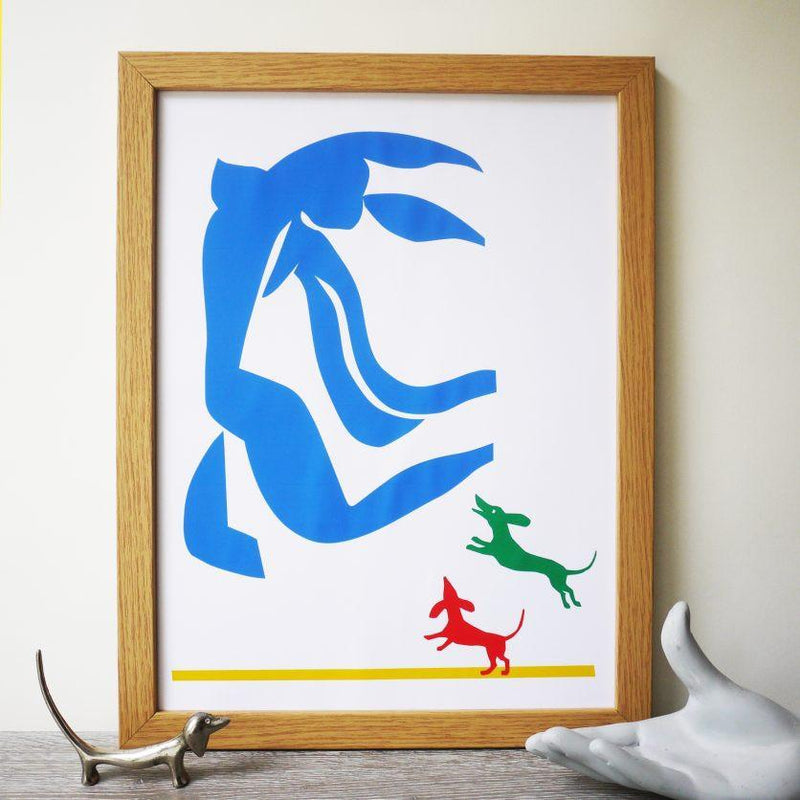 pictures After Matisse Print