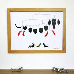pictures Mobile Dachshund Print