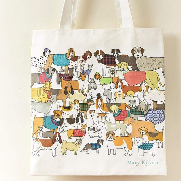 Bag Dog Themed Tote Bag