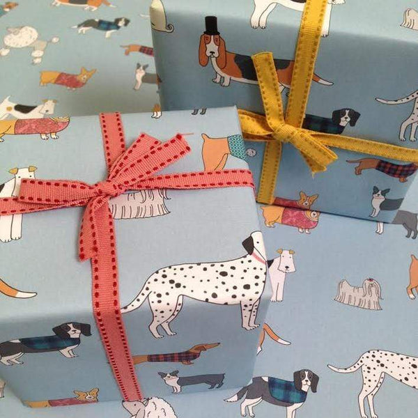 Gift Wrap Mary Kilvert Dog Pattern Wrapping Paper