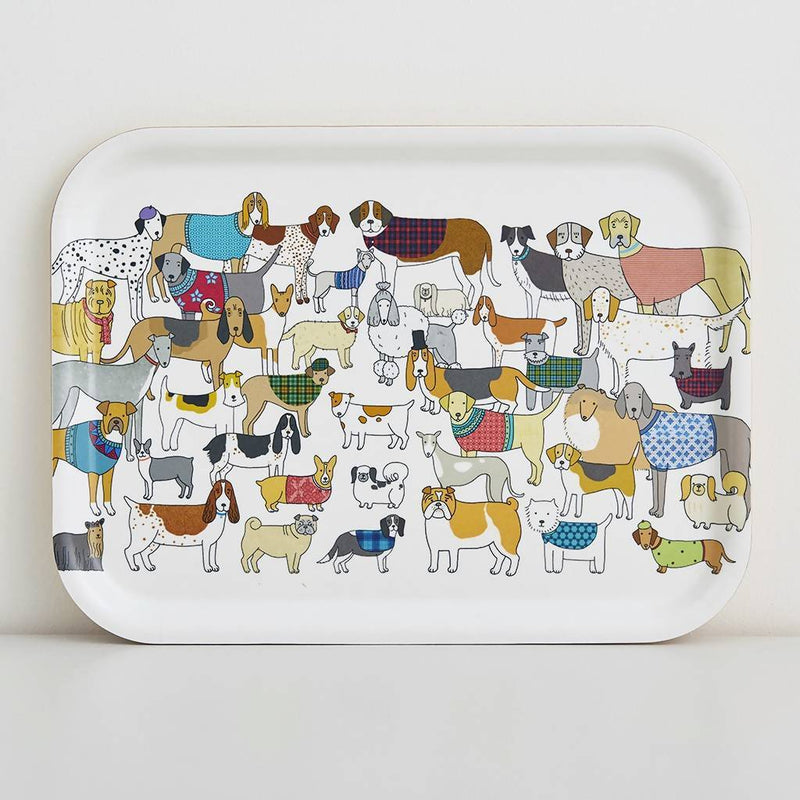 Tray Dog Themed Tray