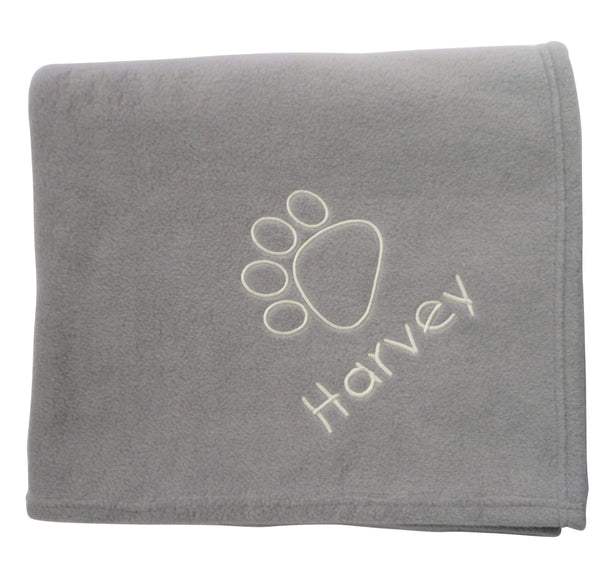 Large Personalised Dog Blanket