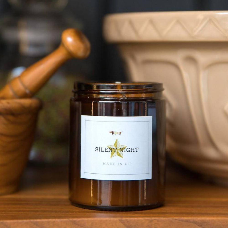 Candle Cinnamon & Orange Aromatherapy Soy Candle with Essential Oils