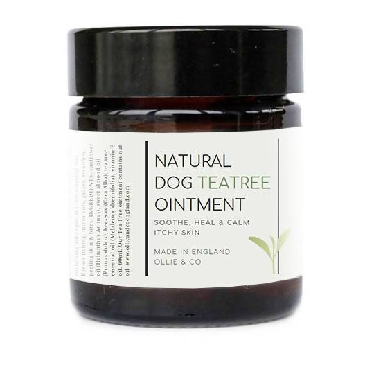 Dog Ointment Natural Dog Tea Tree Ointment - Soothe Itchy, irritated, Sore Skin