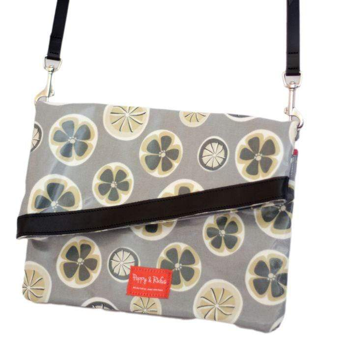 Tote bag Poppy / Beau Oilcoth Dog Walking Bag