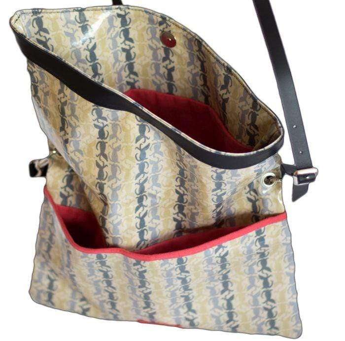 Tote bag Rufus / Beau Oilcoth Dog Walking Bag