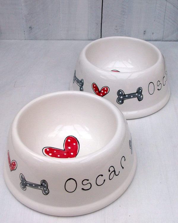 Dog Bowl Personalised Dog Bowl