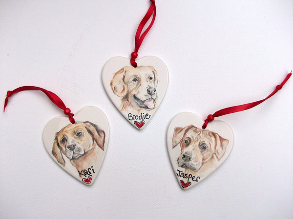 Hanging Decoration Dog Portrait Hanging Decoration