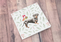 Greeting Card Dachshund Christmas Card