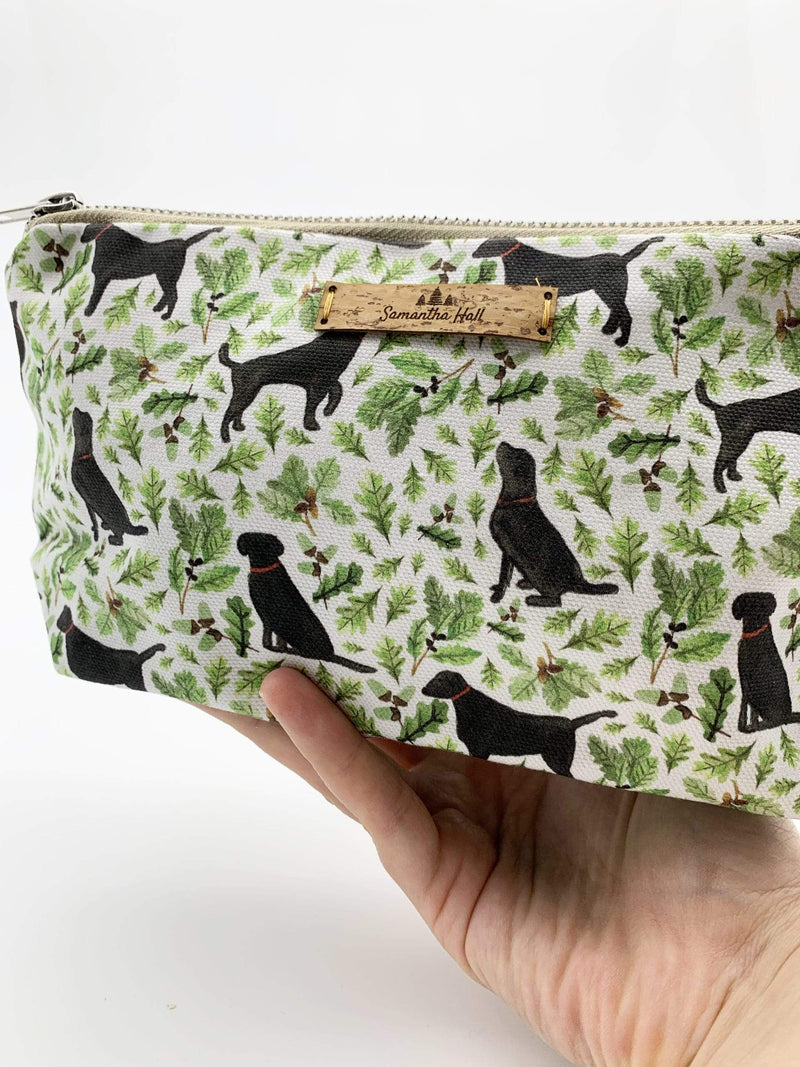 Letterbox Gift Sets Black Labrador Cosmetic Bag Gift Set
