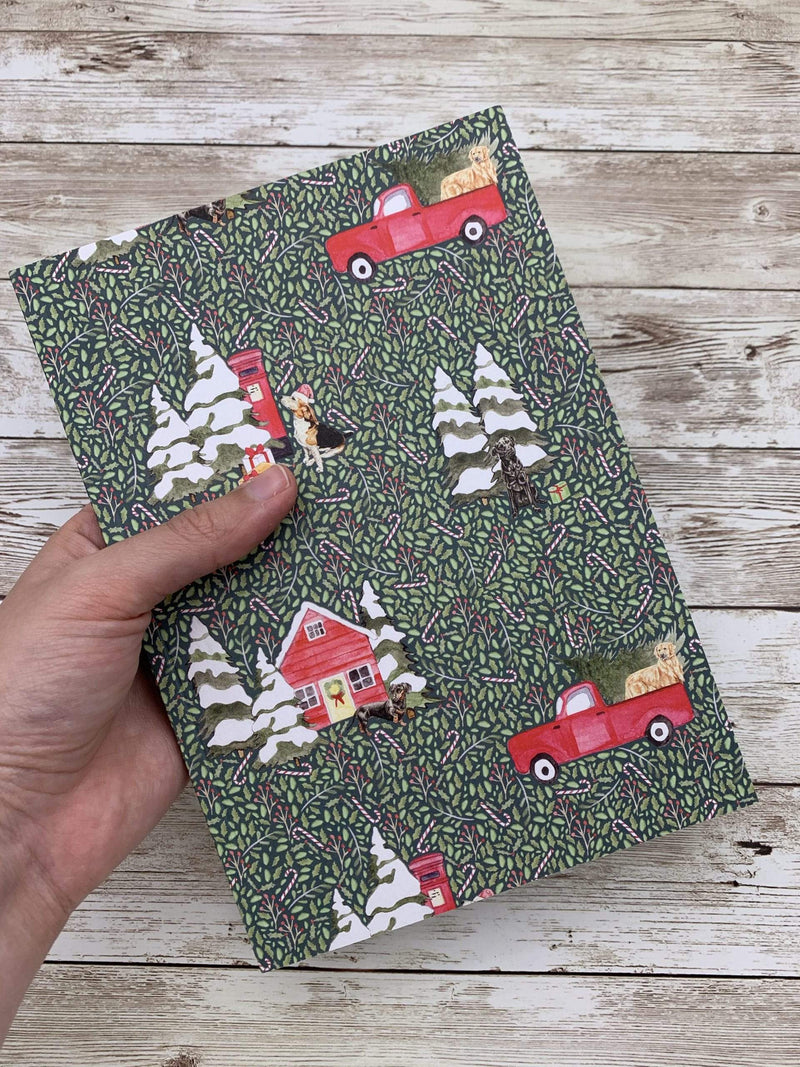 Letterbox Gift Sets Christmas A5 Dog Notebook Gift Set