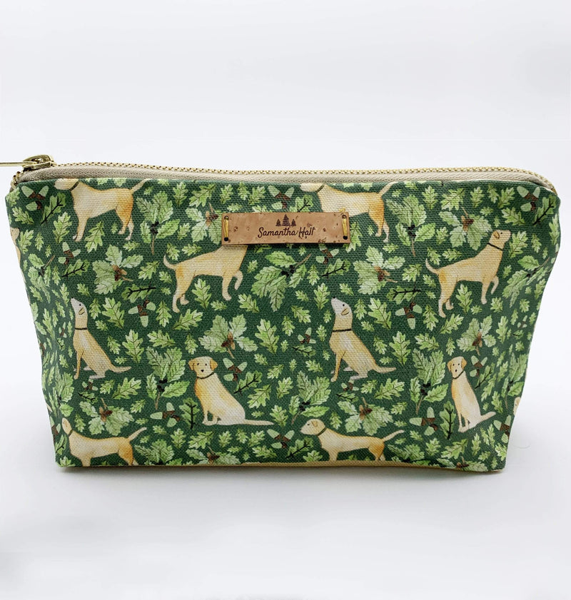 Letterbox Gift Sets Golden Labrador Cosmetic Bag Gift Set