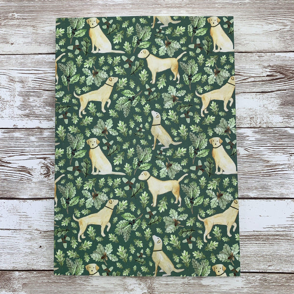Notebook Golden Labrador A5 Lined Notebook