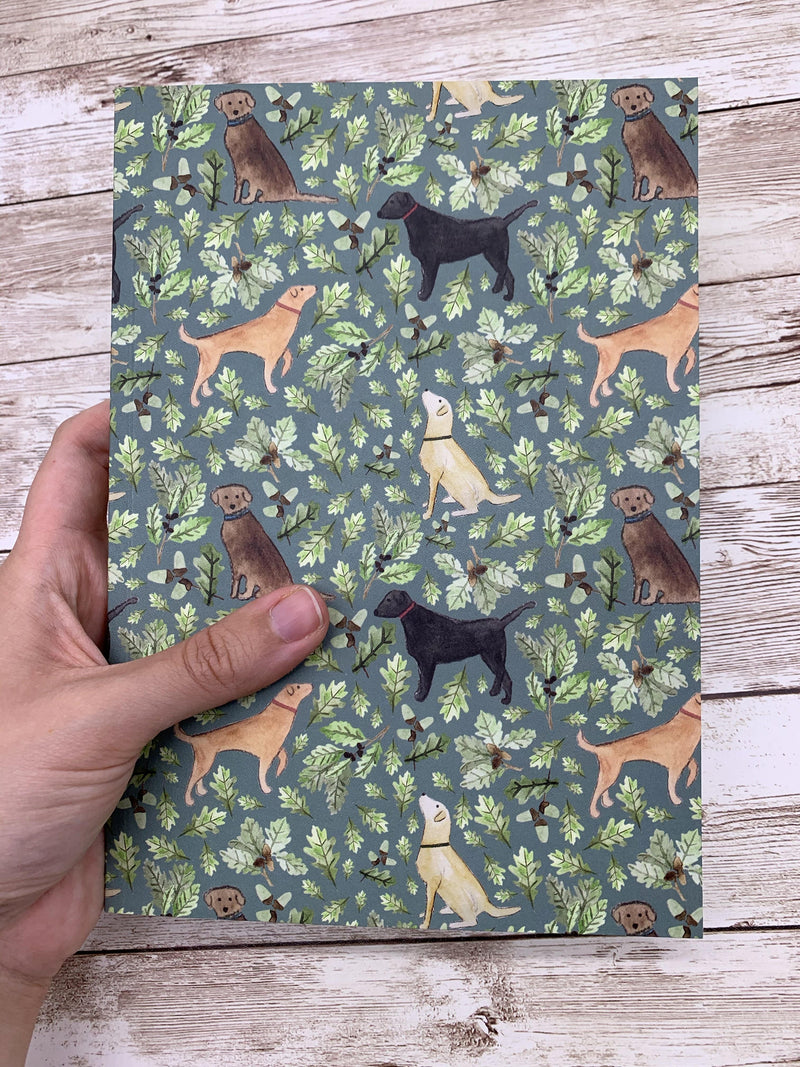 Notebook Labrador A5 Lined Notebook