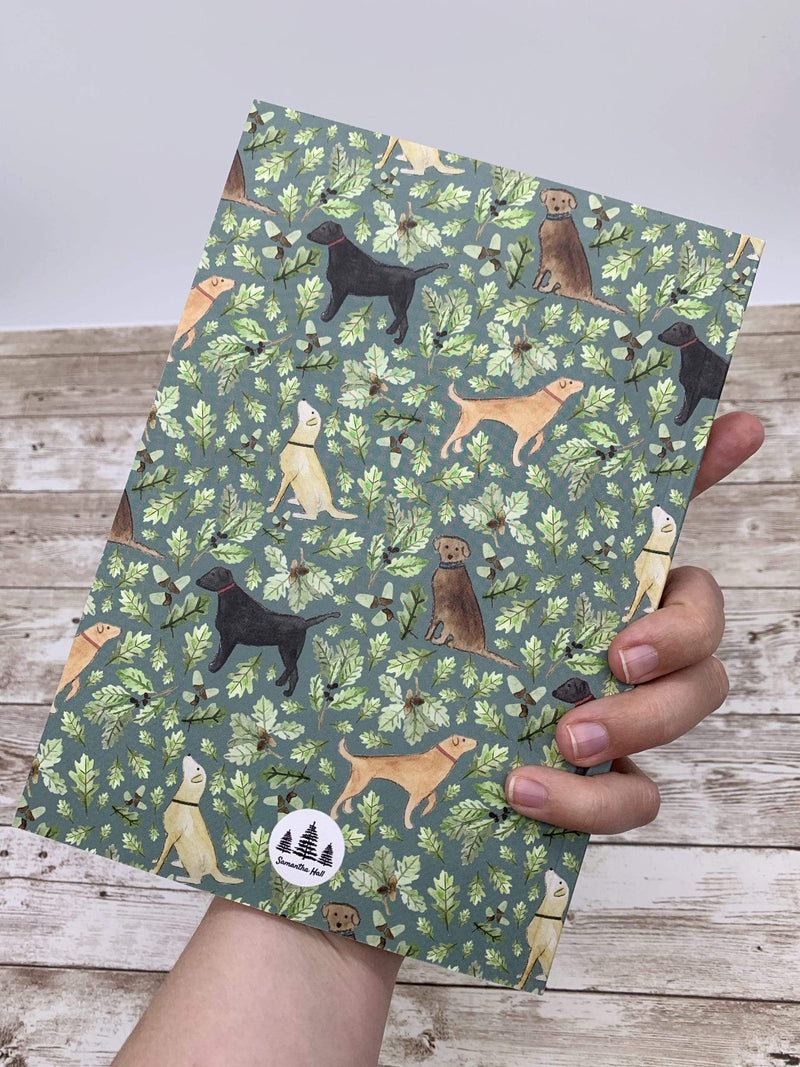 Letterbox Gift Sets Labrador notebook gift set