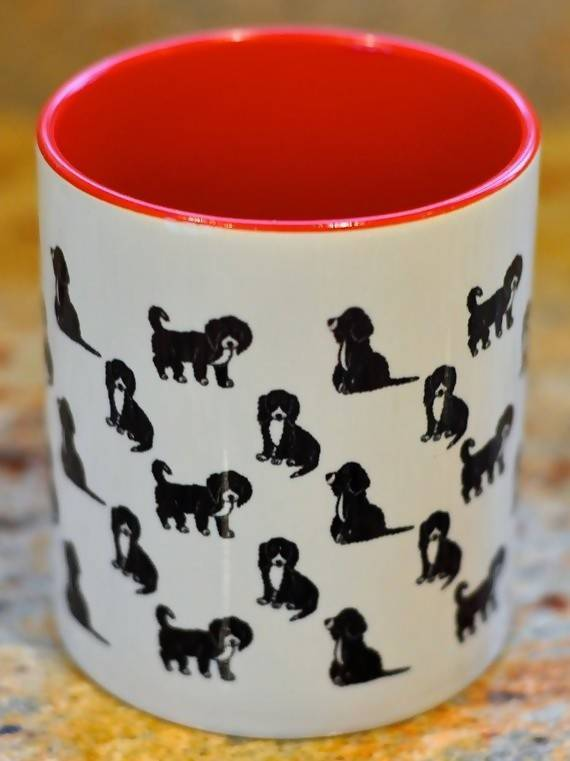 Mug English Cocker Spaniel Mug (Black & White)