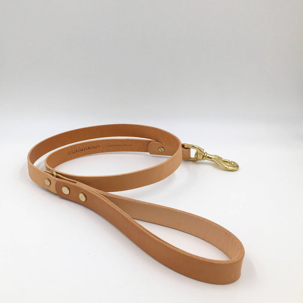 Dog Lead Tan Artisan lead