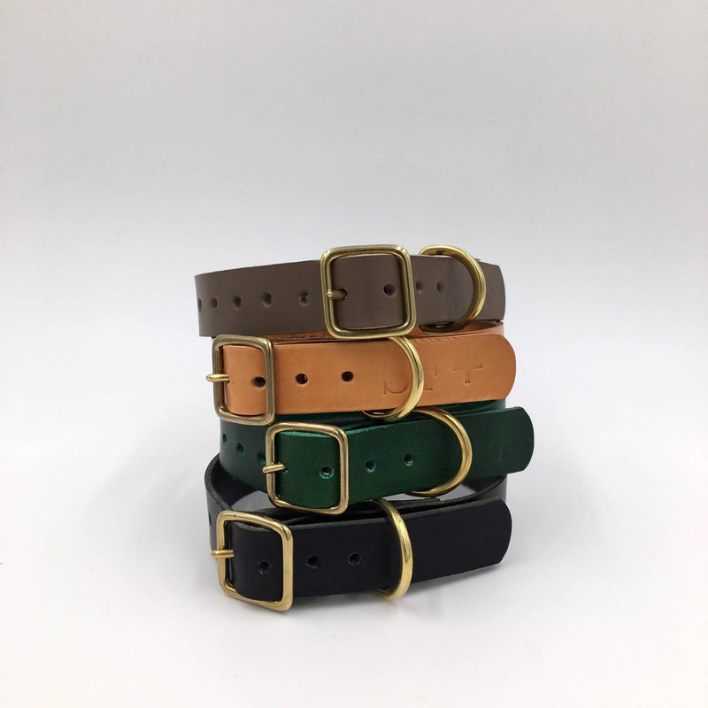 Puppy/sml breed Forest Green Artisan collar