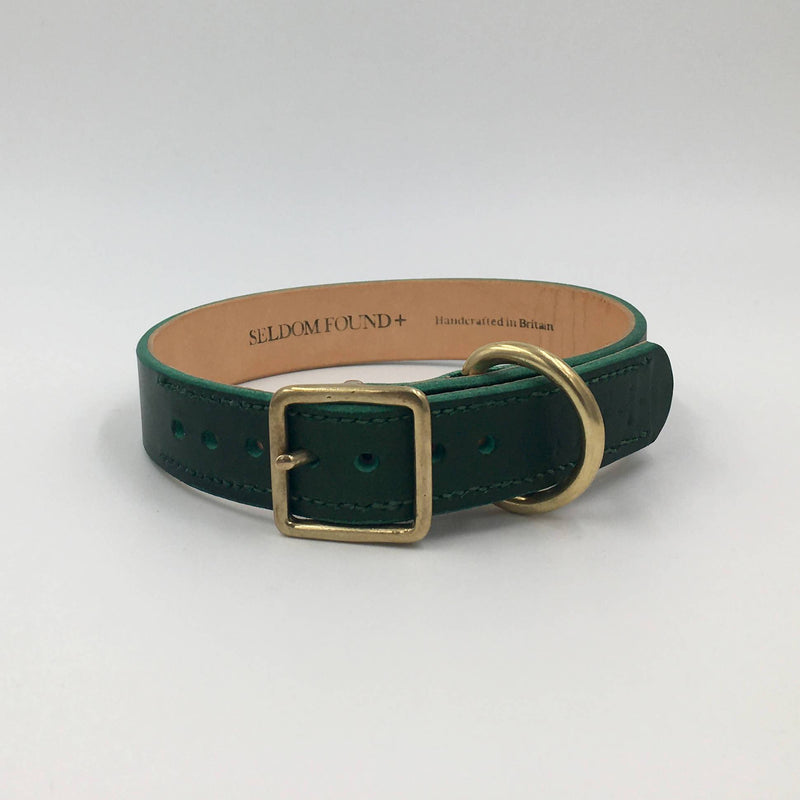 Seldom Found Forest Green Artisan collar
