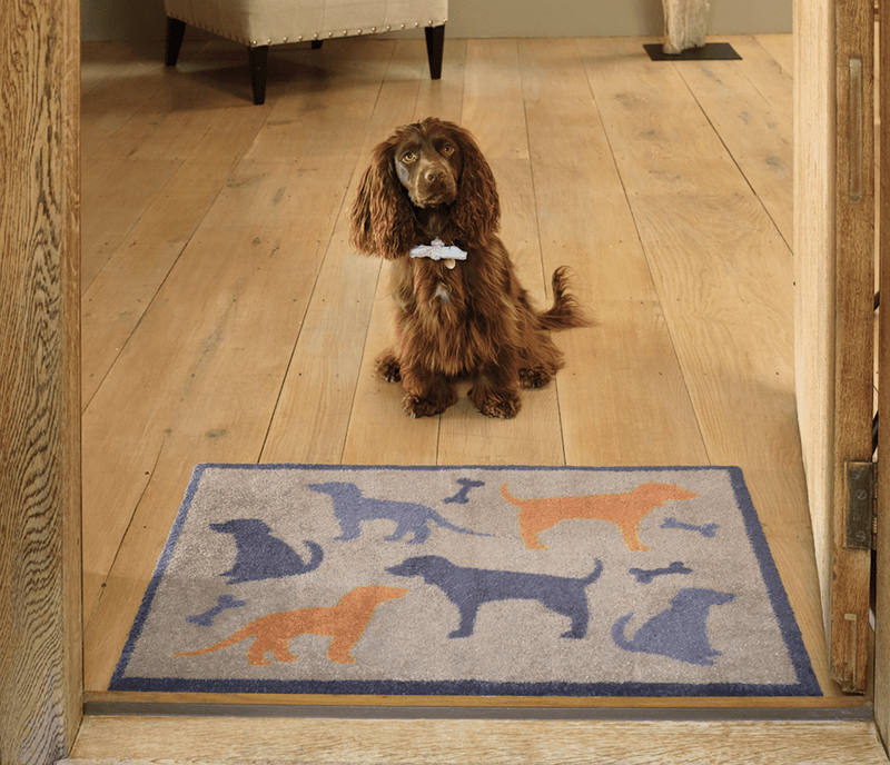Door Mat Dog and Bone Door Mat