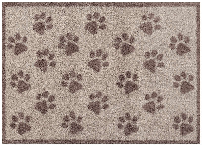 Door Mat Medium Brown Paws Door Mat