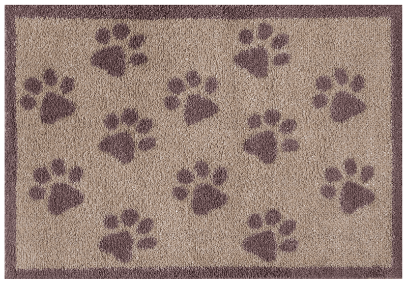 Door Mat Small Brown Paws Door Mat