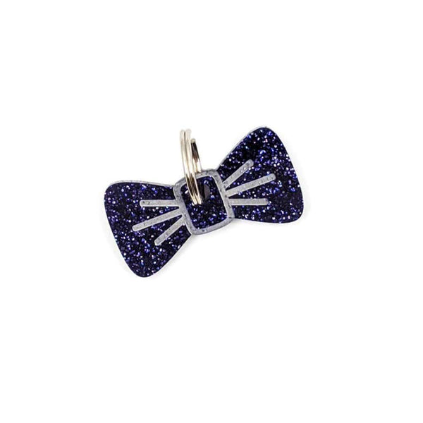 Dog Accessories Midnight Twinkle BowDangle