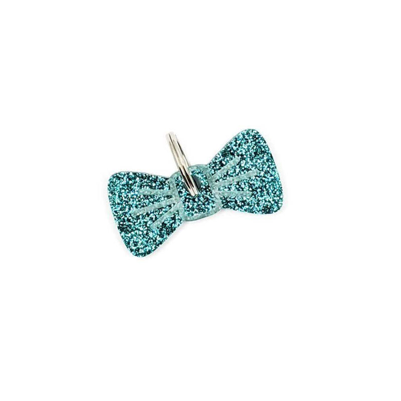 Dog Accessories Ocean Sparkle BowDangle