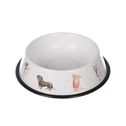 Tinware Wrendale Dog Bowl