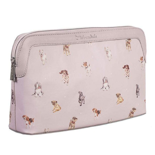 Wrendale Large Cosmetic Bag - A Dogs Life