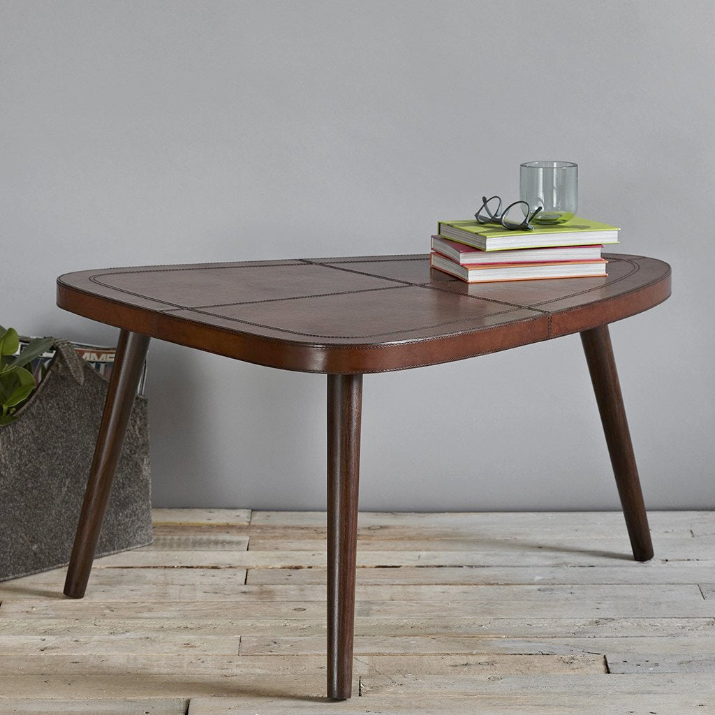 Retro Leather Tables