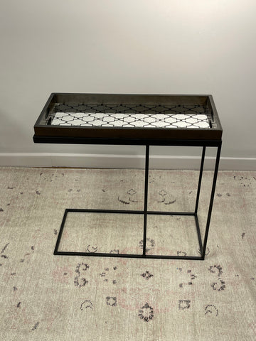 Medium Rectangle Tray Table & Mirror Tray