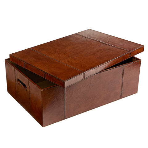 Leather Underbed Storage Box