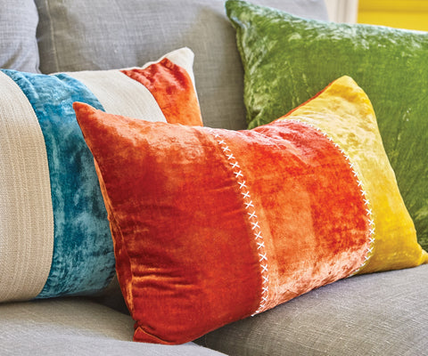 Aritha Orange Tree Cushion