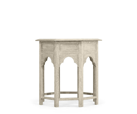 Tanjina Side Table Venetian White Oak