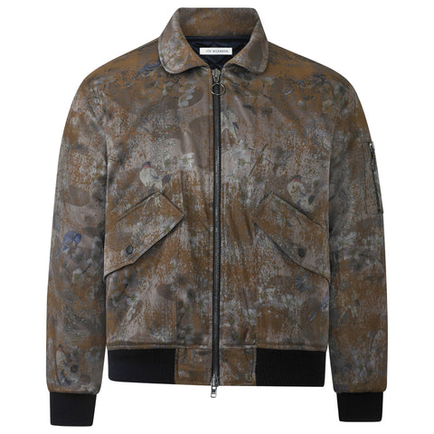 RUST FLORAL JACKET