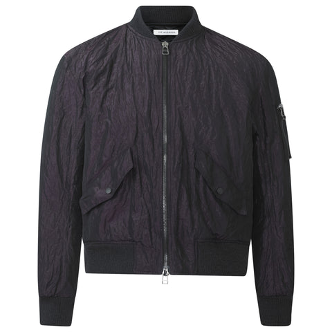 DEEP TUSCAN CREASED SIGNATURE BOMBER