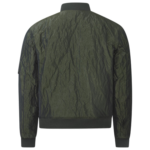 PINE CREASED SIGNATURE BOMBER