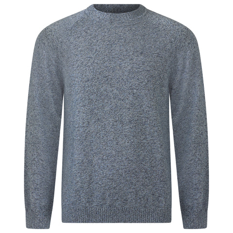 SATELLITE BLUE TRI BLEND SWEATER