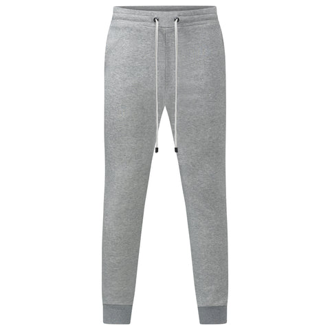 SILVER MARL JAPANESE LOOP WHEEL JOGGERS