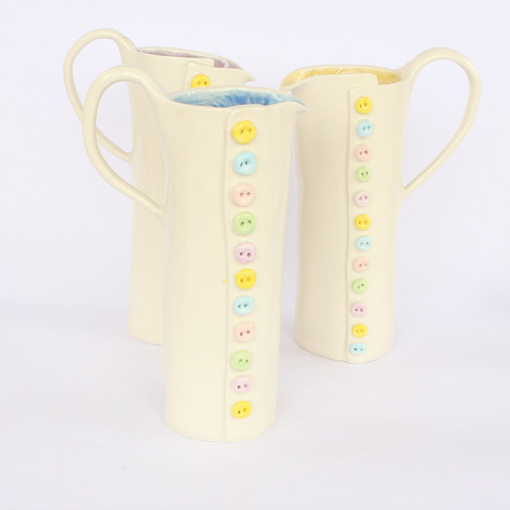 Button Jug by Shelly Lee