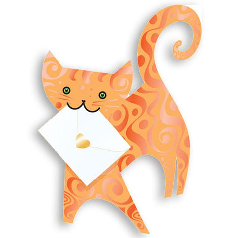 Marmalade Cat Pop Up Card - insideout-home