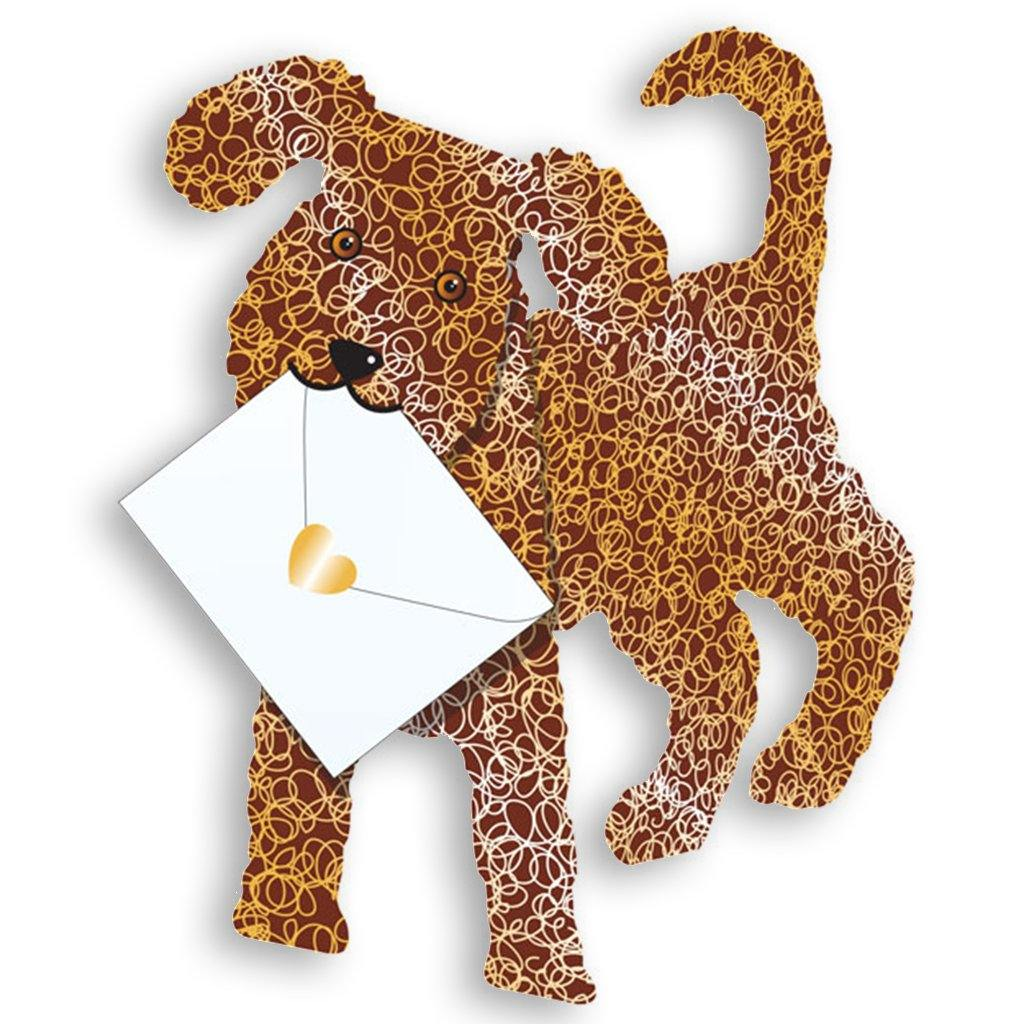 Coco Dog Pop Up Card, Greeting & Note Cards by Insideout
